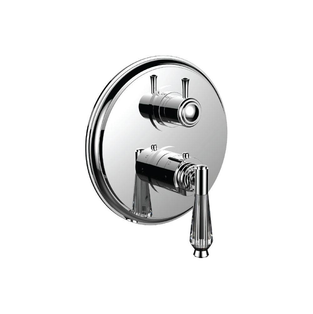 Santec Thermostatic Valve Trims With Integrated Diverter Shower Faucet Trims item 7098HC28-TM