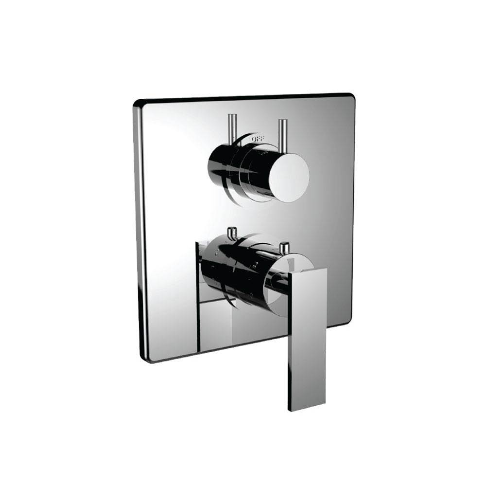 Santec Thermostatic Valve Trims With Integrated Diverter Shower Faucet Trims item 7099EM25-TM