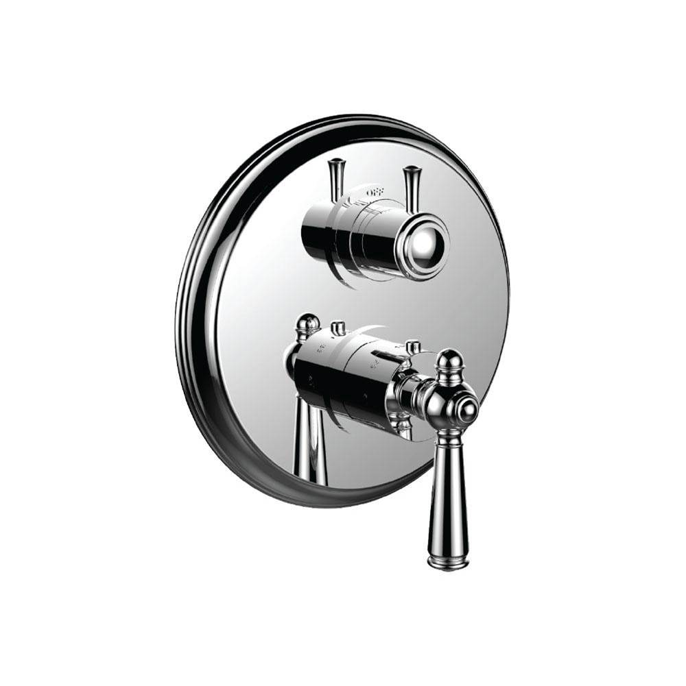 Santec Thermostatic Valve Trims With Integrated Diverter Shower Faucet Trims item 7099JP24-TM