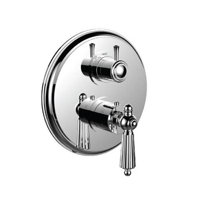 Santec Thermostatic Valve Trims With Integrated Diverter Shower Faucet Trims item 7098LL24-TM