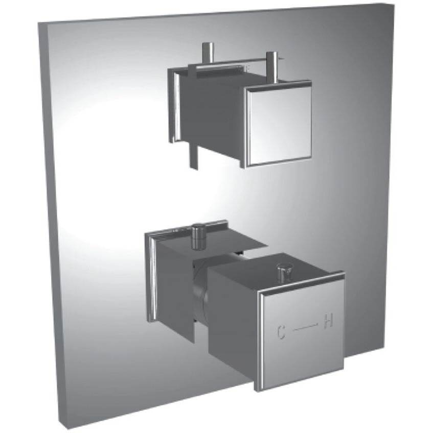 Santec Thermostatic Valve Trims With Integrated Diverter Shower Faucet Trims item 7098MC49-TM