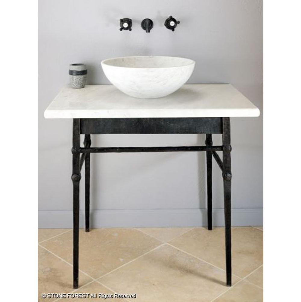 Stone Forest Bathroom Vanities Decorative Plumbing Supply San - Wrought iron bathroom vanity stand