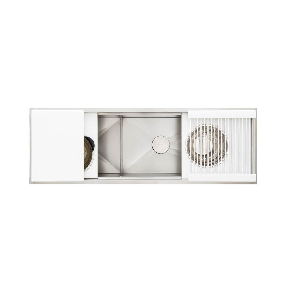 The Galley Work Station Kitchen Sinks item IWS 5D WH