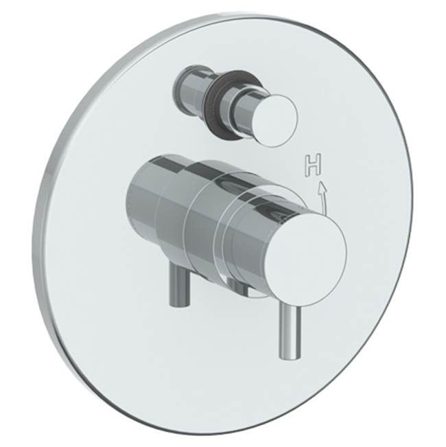 Watermark Pressure Balance Trims With Integrated Diverter Shower Faucet Trims item 22-P90-TIB-SBZ