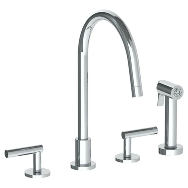 Watermark Side Spray Kitchen Faucets item 23-7.1G-L8-VB