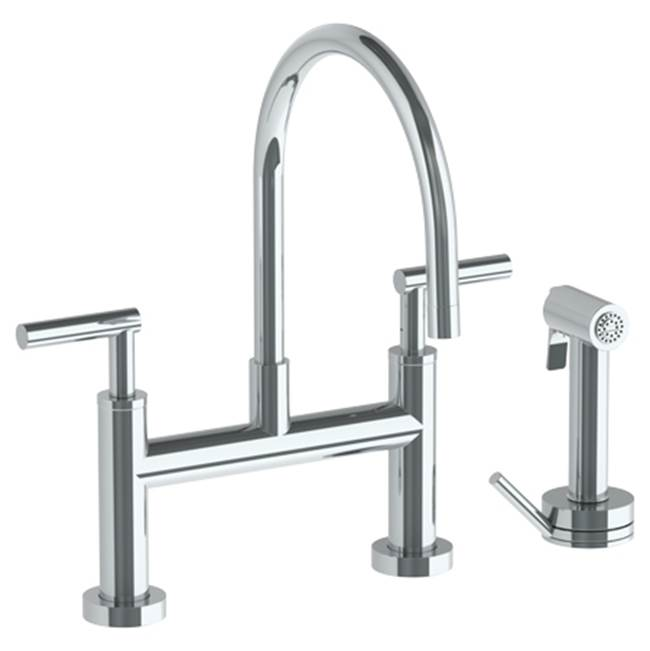 Watermark Bridge Kitchen Faucets item 23-7.65G-L8-GP