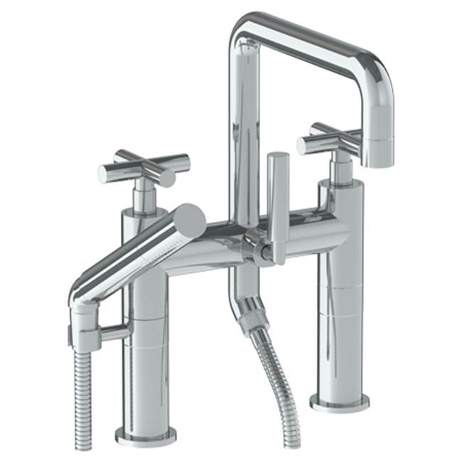 Watermark Deck Mount Roman Tub Faucets With Hand Showers item 23-8.26.2-L9-PCO