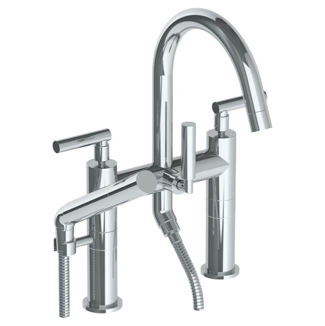 Watermark Deck Mount Roman Tub Faucets With Hand Showers item 27-8.2-CL14-PVD