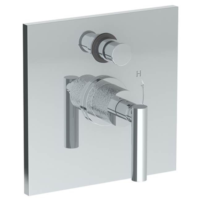 Watermark Pressure Balance Trims With Integrated Diverter Shower Faucet Trims item 27-P90-CL14-WH