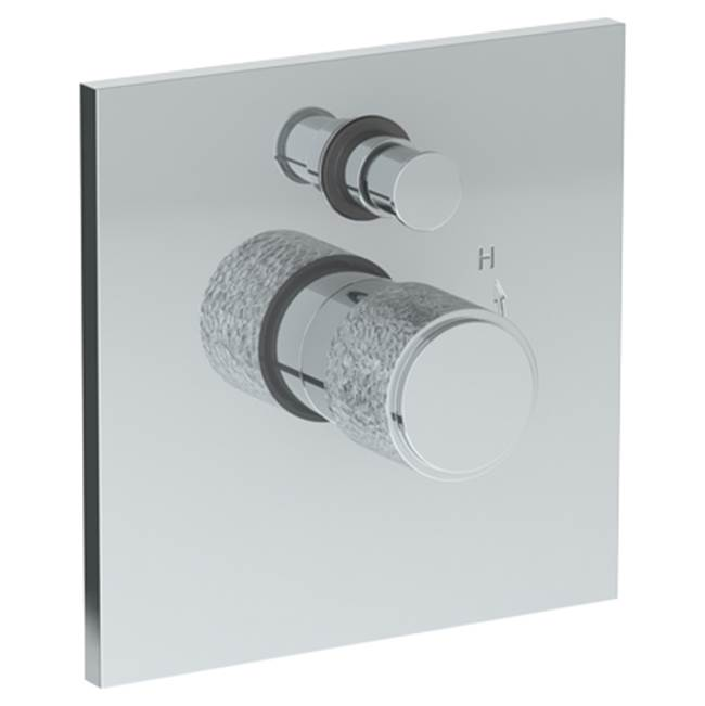 Watermark Pressure Balance Trims With Integrated Diverter Shower Faucet Trims item 27-P90-CL16-SBZ