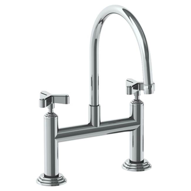 Watermark Bridge Kitchen Faucets item 29-7.52-TR15-PVD