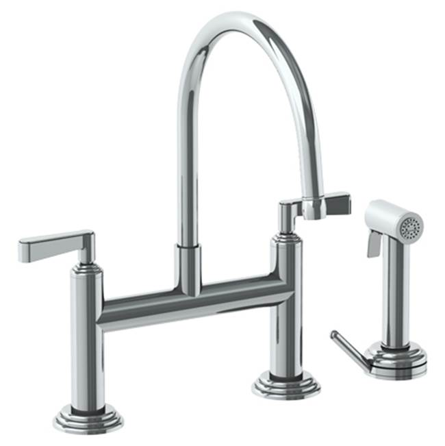 Watermark Bridge Kitchen Faucets item 29-7.65-TR14-PN
