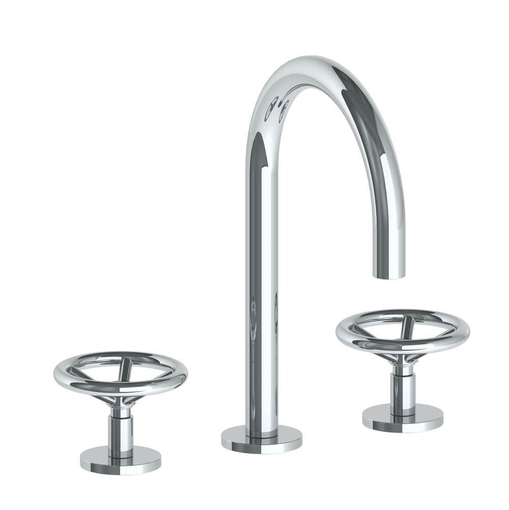 Watermark Deck Mount Bathroom Sink Faucets item 31-2G-BK-GM