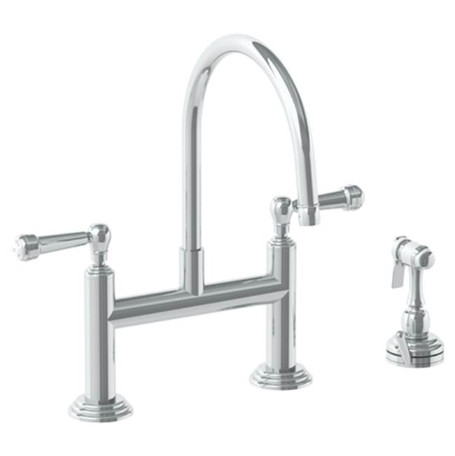 Watermark Bridge Kitchen Faucets item 321-7.65-S2-CL
