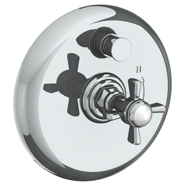 Watermark Pressure Balance Trims With Integrated Diverter Shower Faucet Trims item 321-P90-S1-WH
