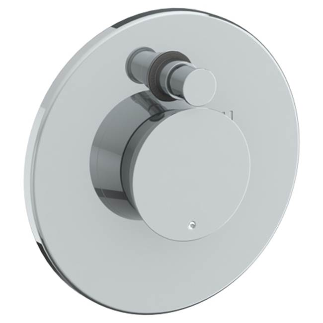 Watermark Pressure Balance Trims With Integrated Diverter Shower Faucet Trims item 36-P90-BL1-MB