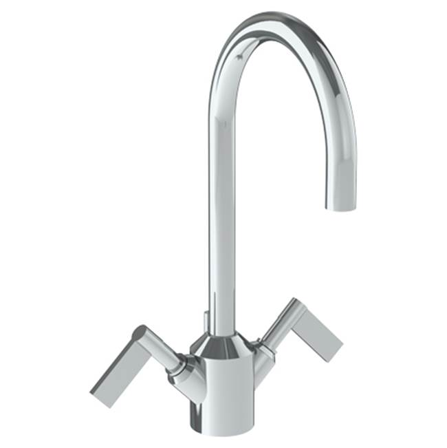 Watermark Deck Mount Bathroom Sink Faucets item 37-1-BL2-VNCO