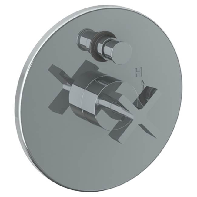 Watermark Pressure Balance Trims With Integrated Diverter Shower Faucet Trims item 37-P90-BL3-MB