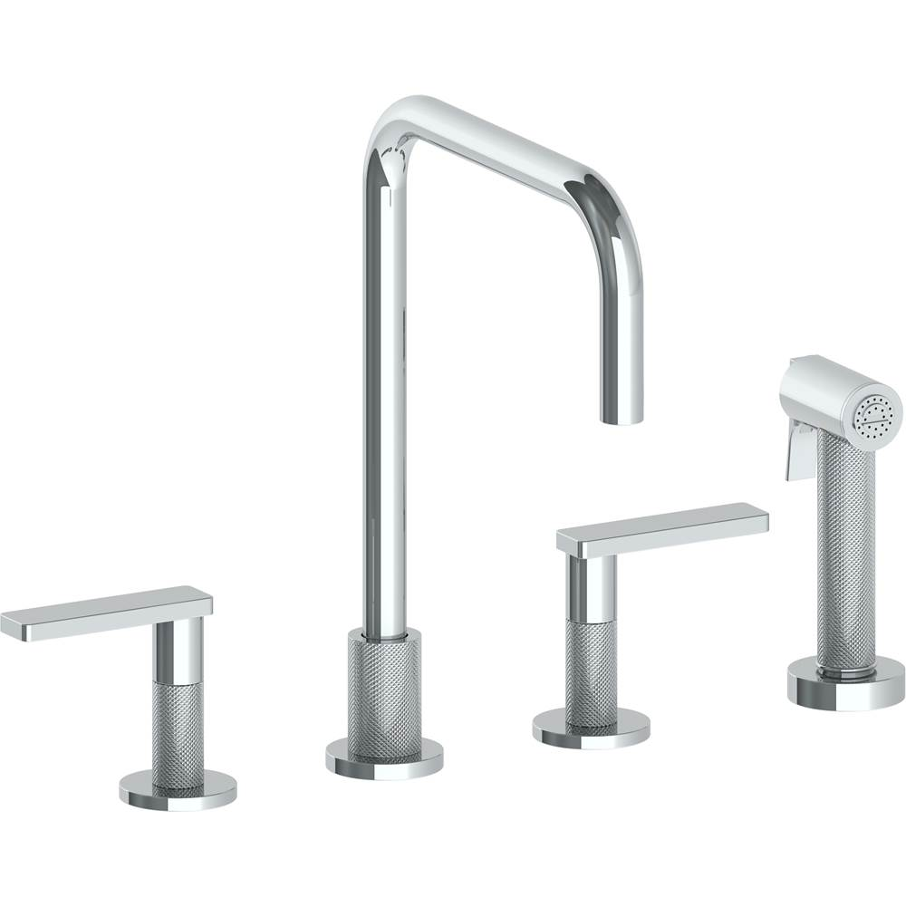 Watermark Deck Mount Kitchen Faucets item 70-7.1-RNK8-PG