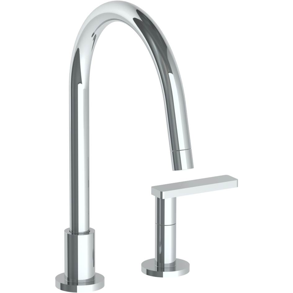 Watermark Deck Mount Kitchen Faucets item 70-7.1.3G-RNS4-AGN