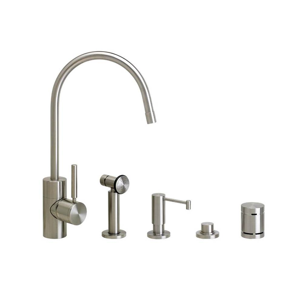 Waterstone Single Hole Kitchen Faucets item 3800-4-AP