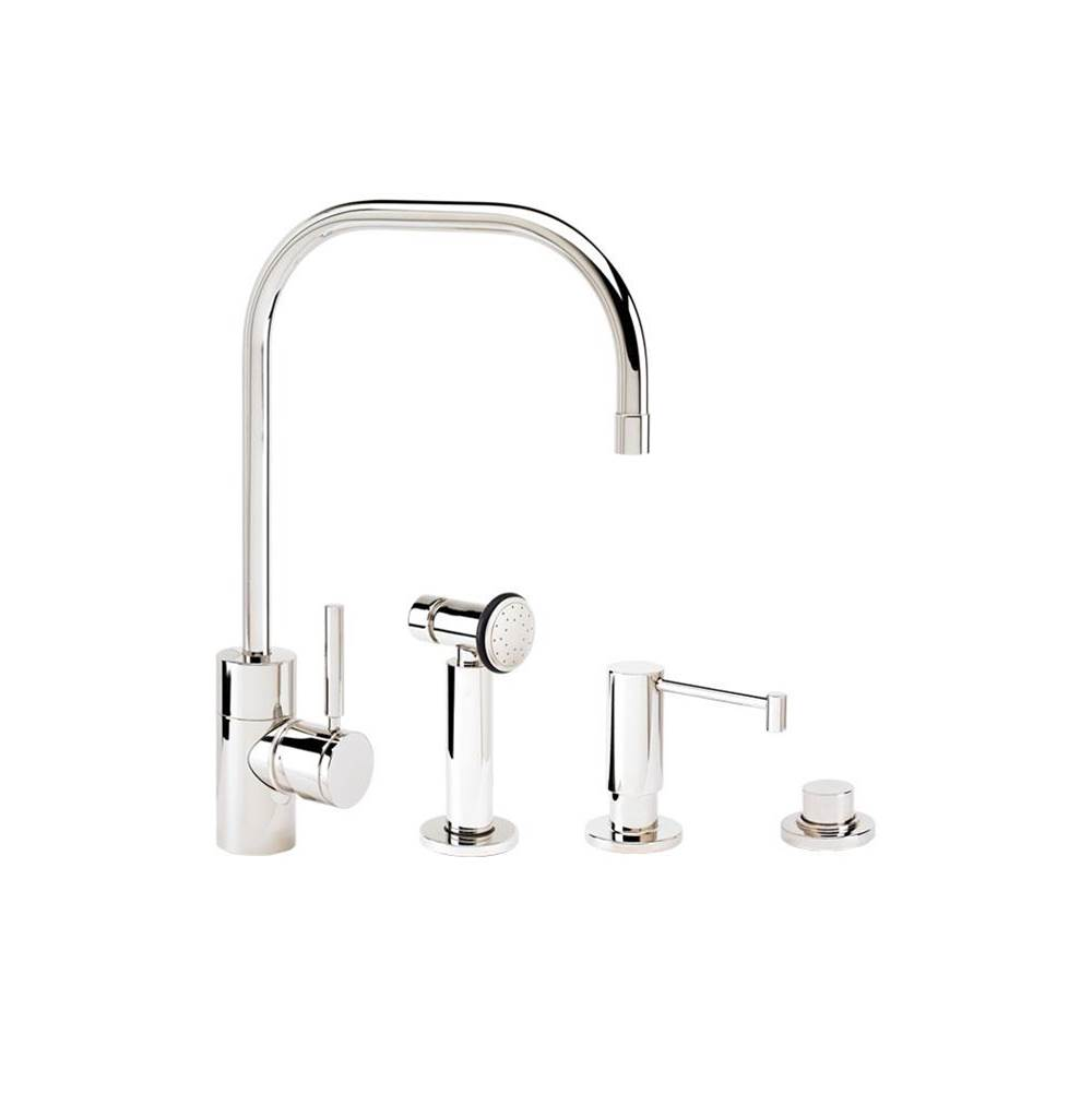 Waterstone Single Hole Kitchen Faucets item 3825-3-PB