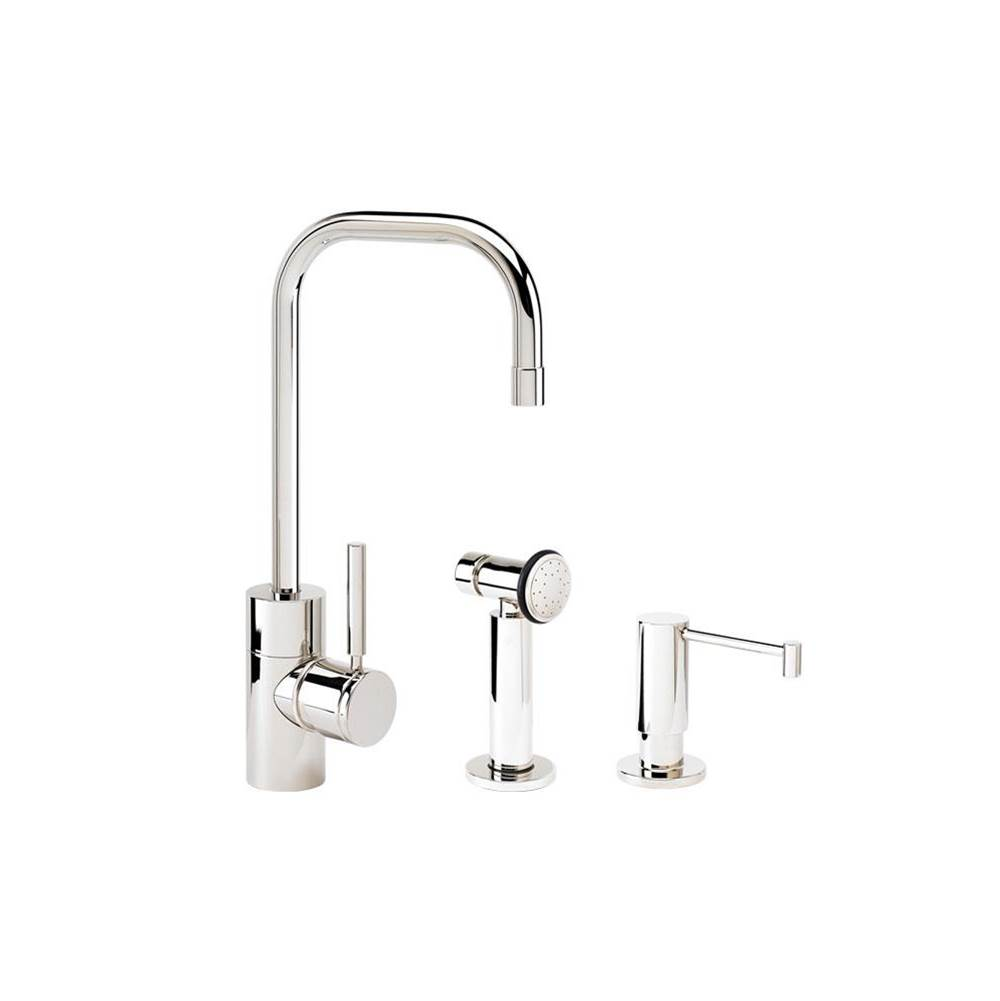 Waterstone Single Hole Kitchen Faucets item 3925-2-PG