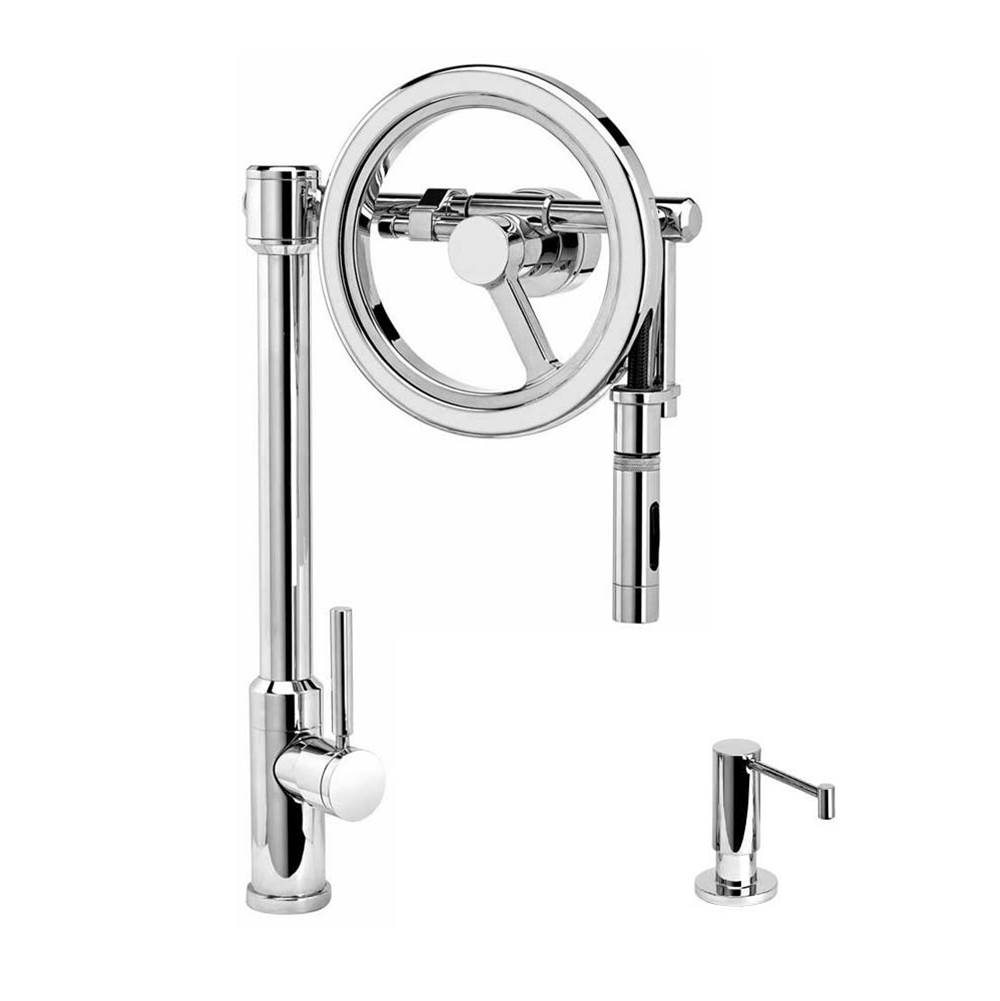Waterstone Pull Down Faucet Kitchen Faucets item 5125-2-PB