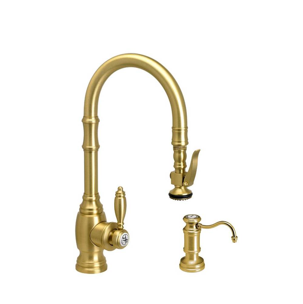 Waterstone Deck Mount Kitchen Faucets item 5200-2-SG