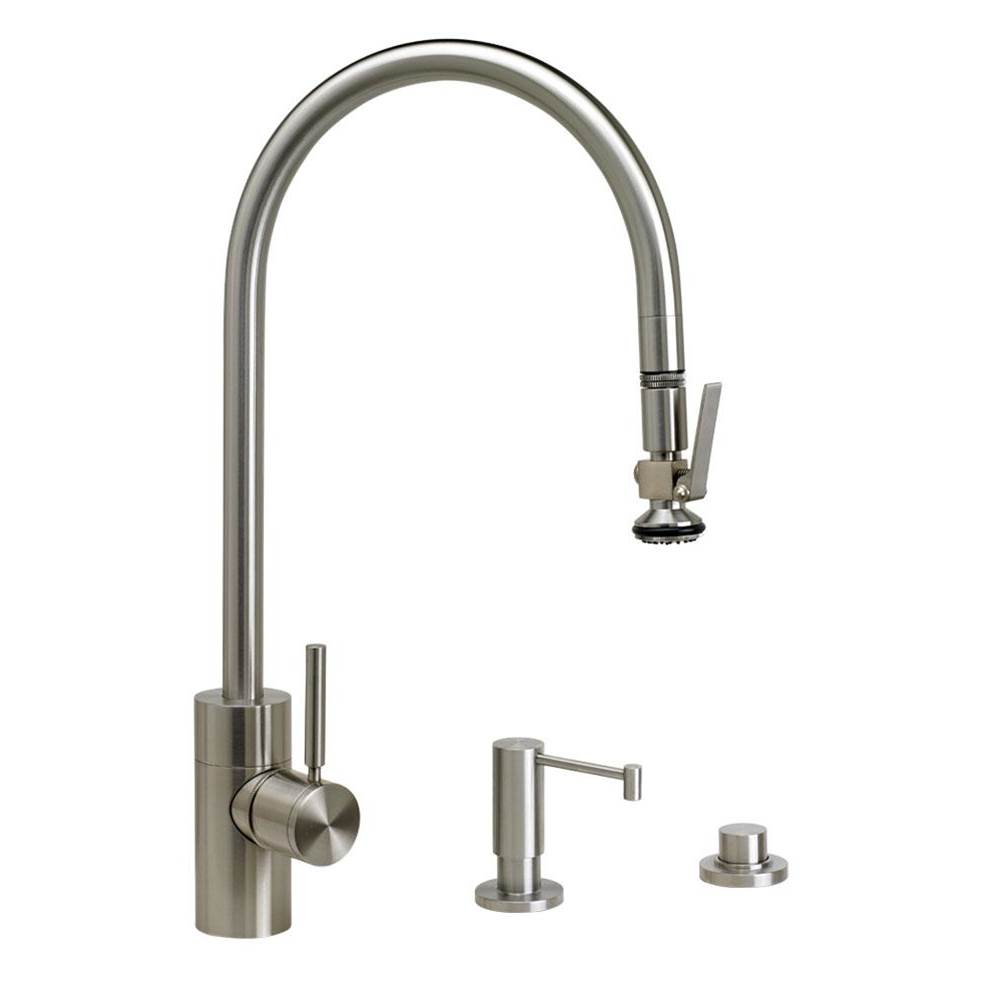 Waterstone Deck Mount Kitchen Faucets item 5700-3-CHB