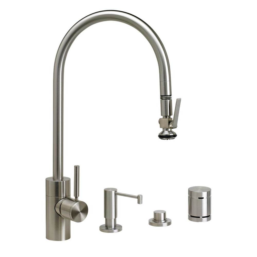 Waterstone Deck Mount Kitchen Faucets item 5700-4-VB