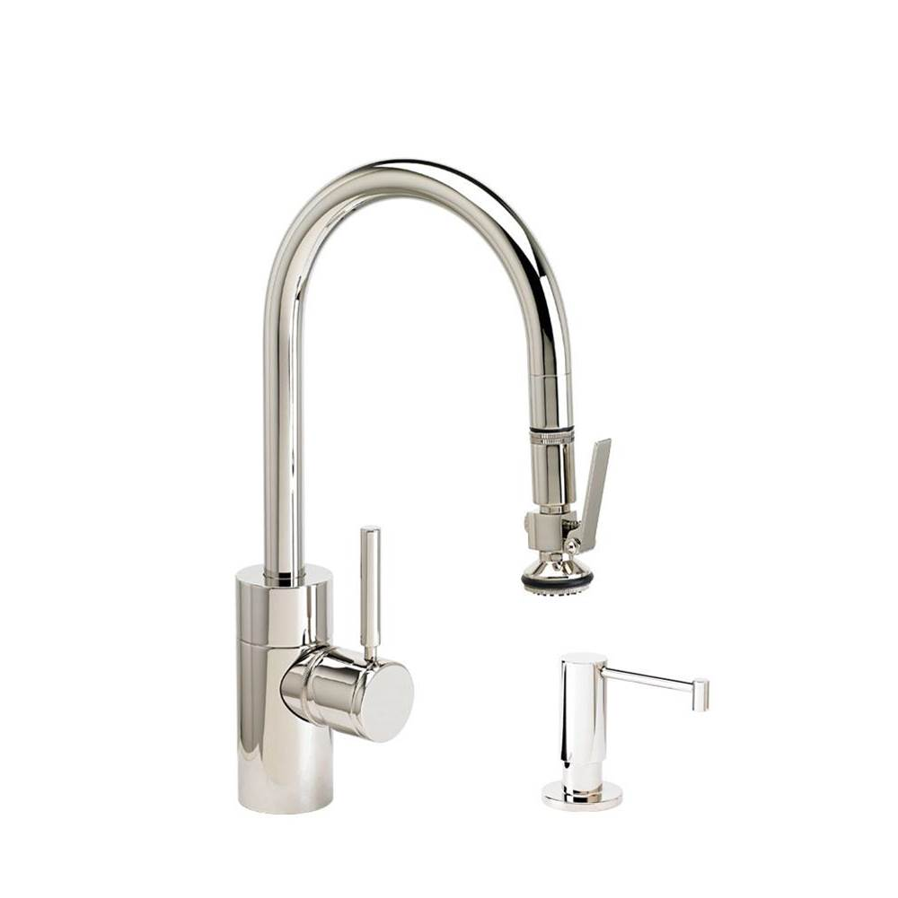 Waterstone Deck Mount Kitchen Faucets item 5930-2-TB