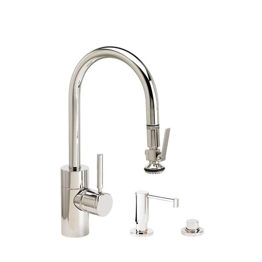 Waterstone Deck Mount Kitchen Faucets item 5930-3-SS