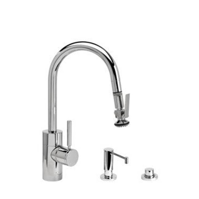 Waterstone Pull Down Faucet Kitchen Faucets item 5940-3-ABZ