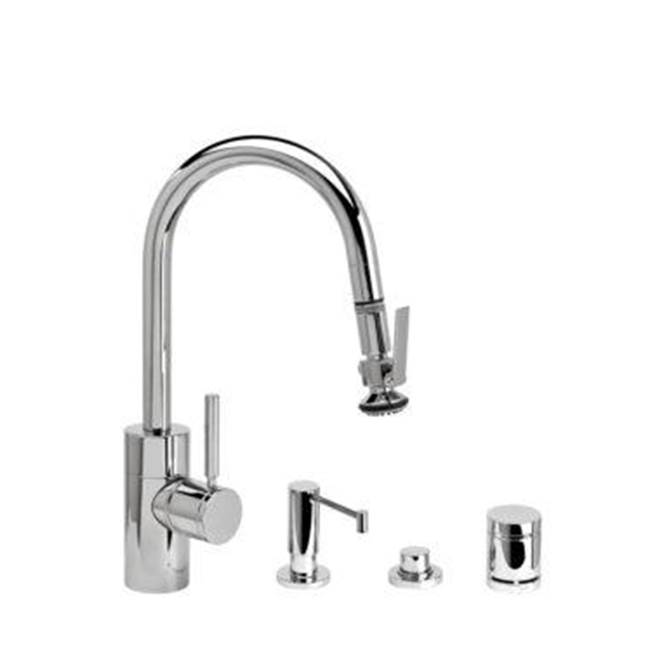 Waterstone Pull Down Faucet Kitchen Faucets item 5940-4-SG