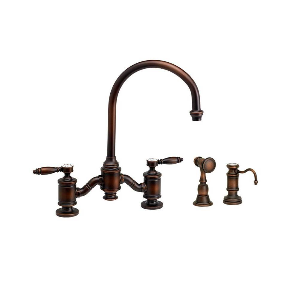 Waterstone Bridge Kitchen Faucets item 6300-2-BLN
