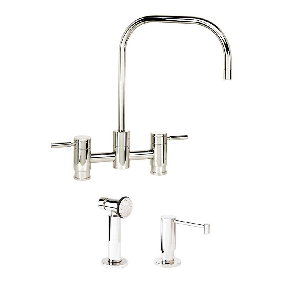 Waterstone Bridge Kitchen Faucets item 7825-2-UPB