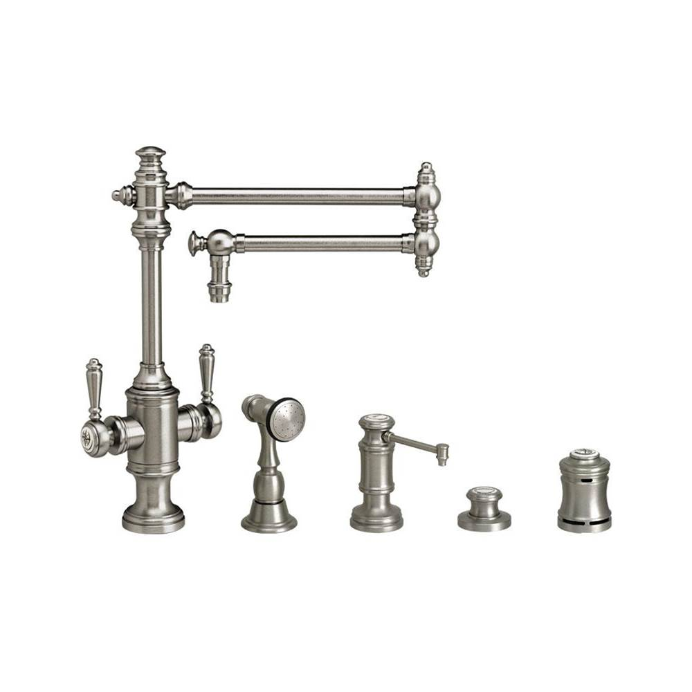 Waterstone Single Hole Kitchen Faucets item 8010-18-4-MB