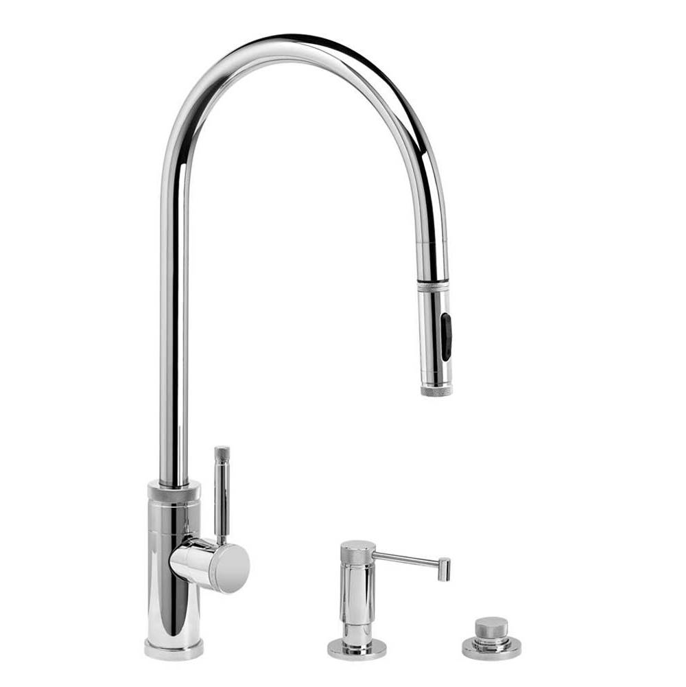 Waterstone Pull Down Faucet Kitchen Faucets item 9300-3-AMB
