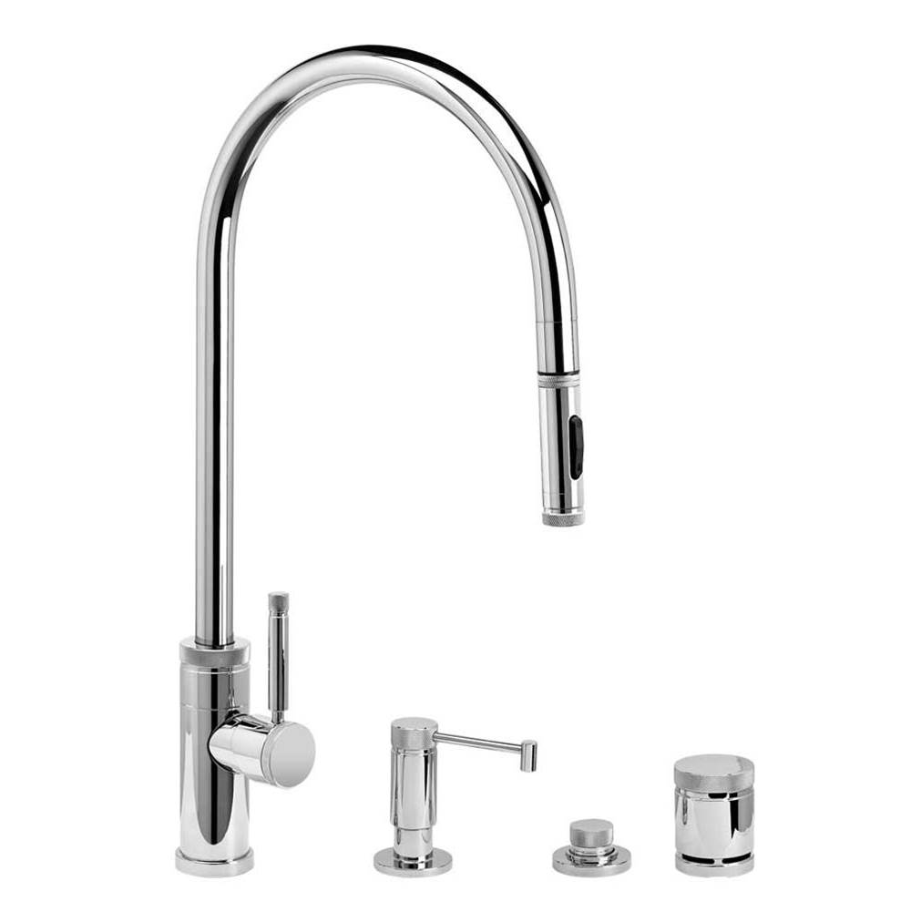 Waterstone Pull Down Faucet Kitchen Faucets item 9300-4-CHB