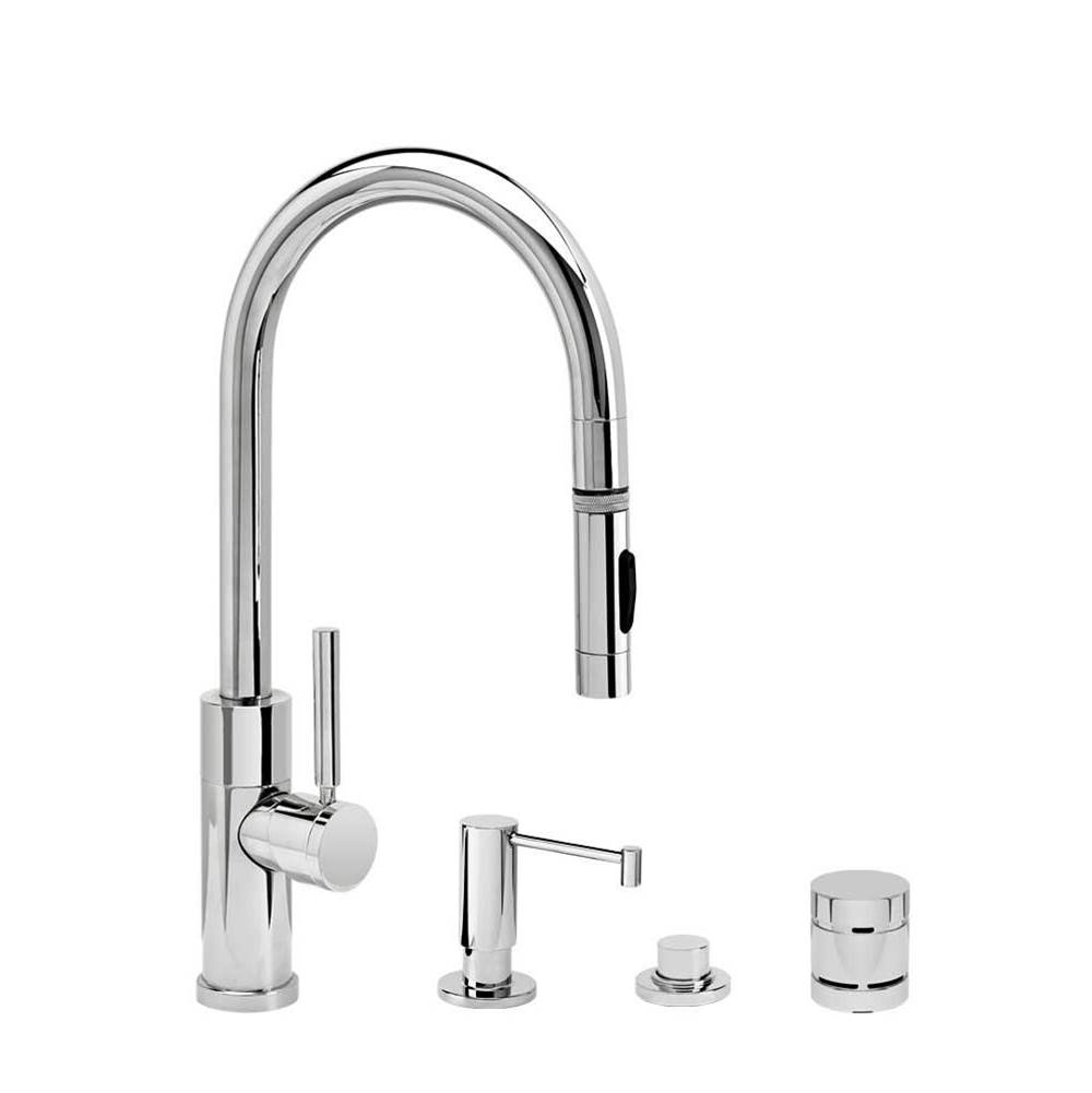 Waterstone Pull Down Faucet Kitchen Faucets item 9950-4-ORB